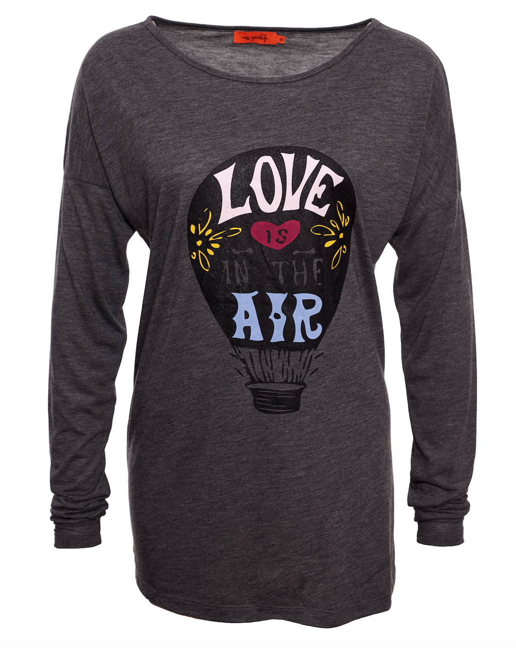 LOVE IS IN THE AIR LANGARM T-SHIRT