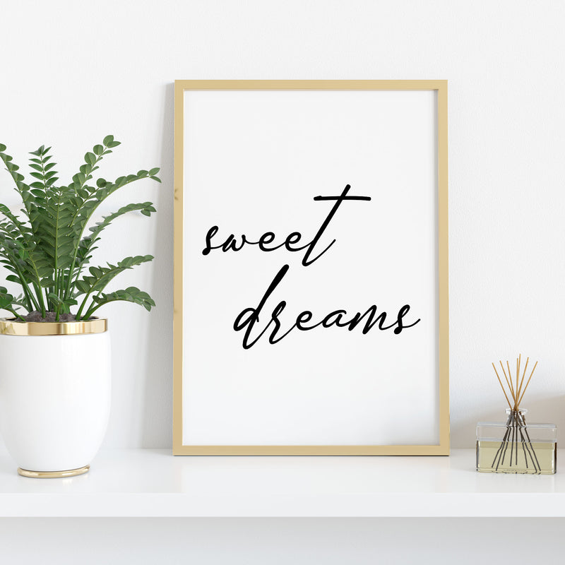 Sweet Dreams Wall Print