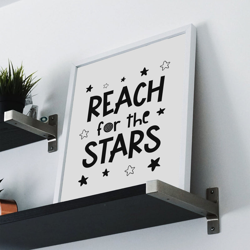 Reach For The Stars Wall Print