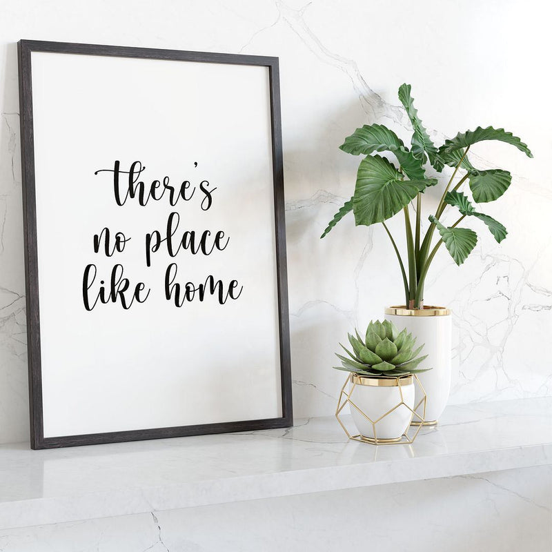 There's No Place Like Home Wall Print