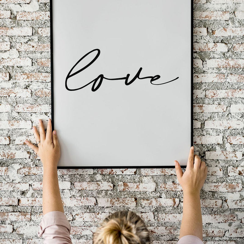 Love No.3 Wall Print