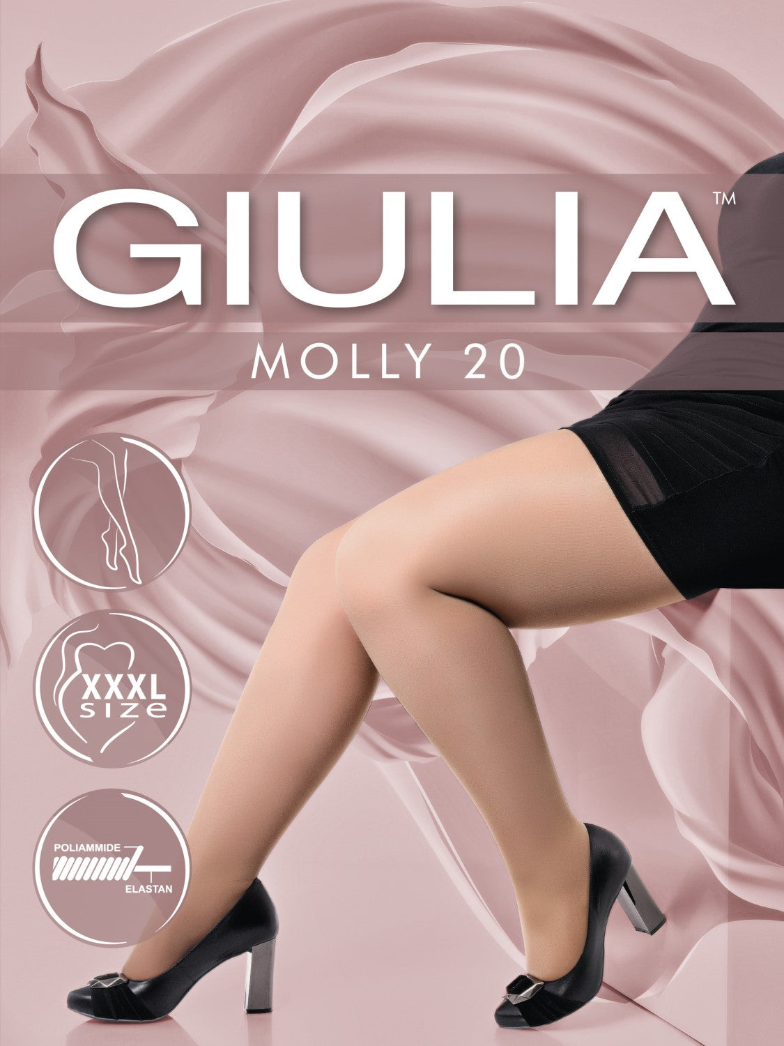 Giulia Molly 40 +size tights