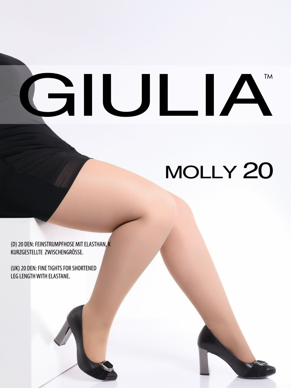 Giulia Molly 3 color plus size stockings petite