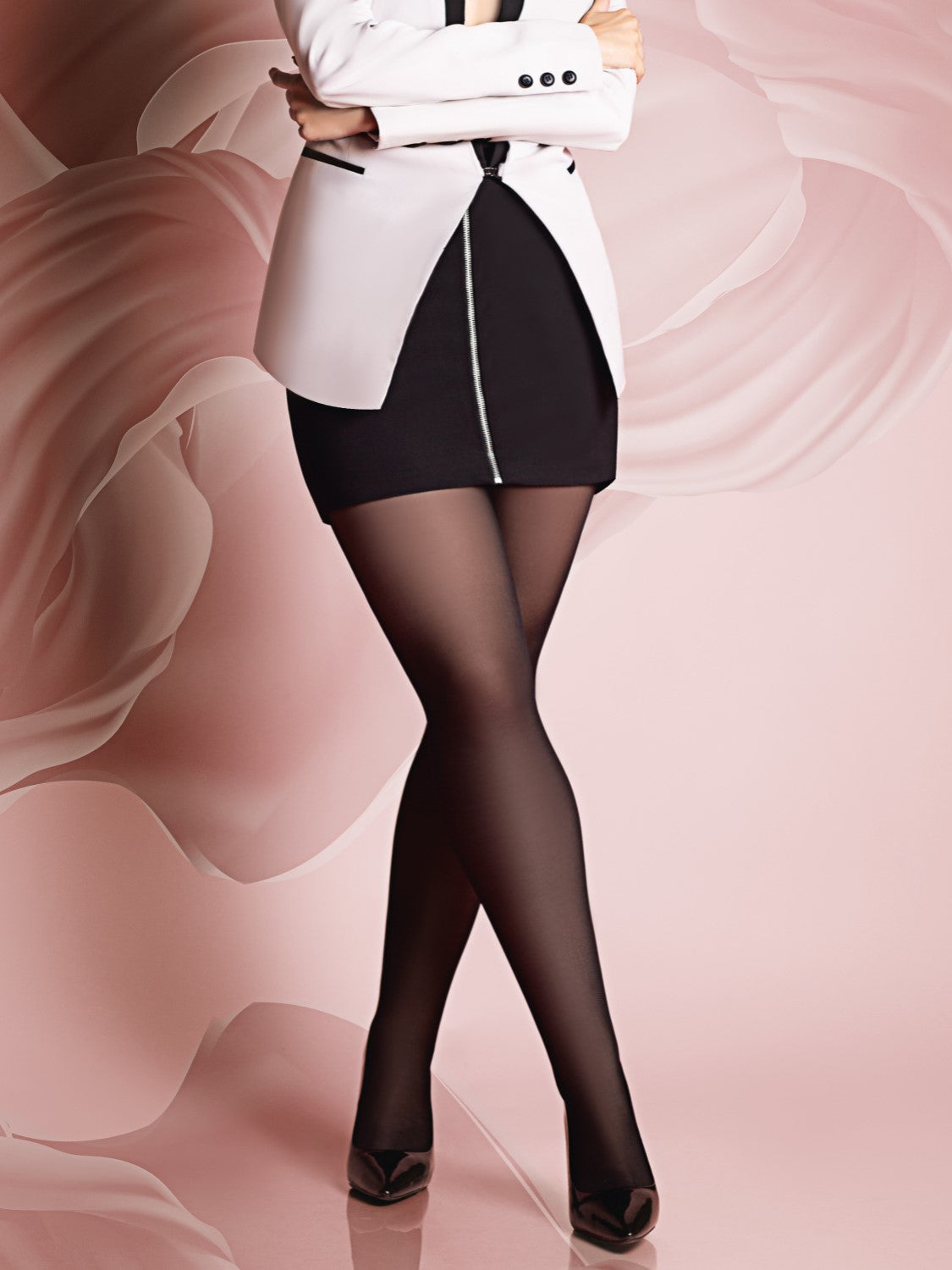 giulia extra plus size - support tights