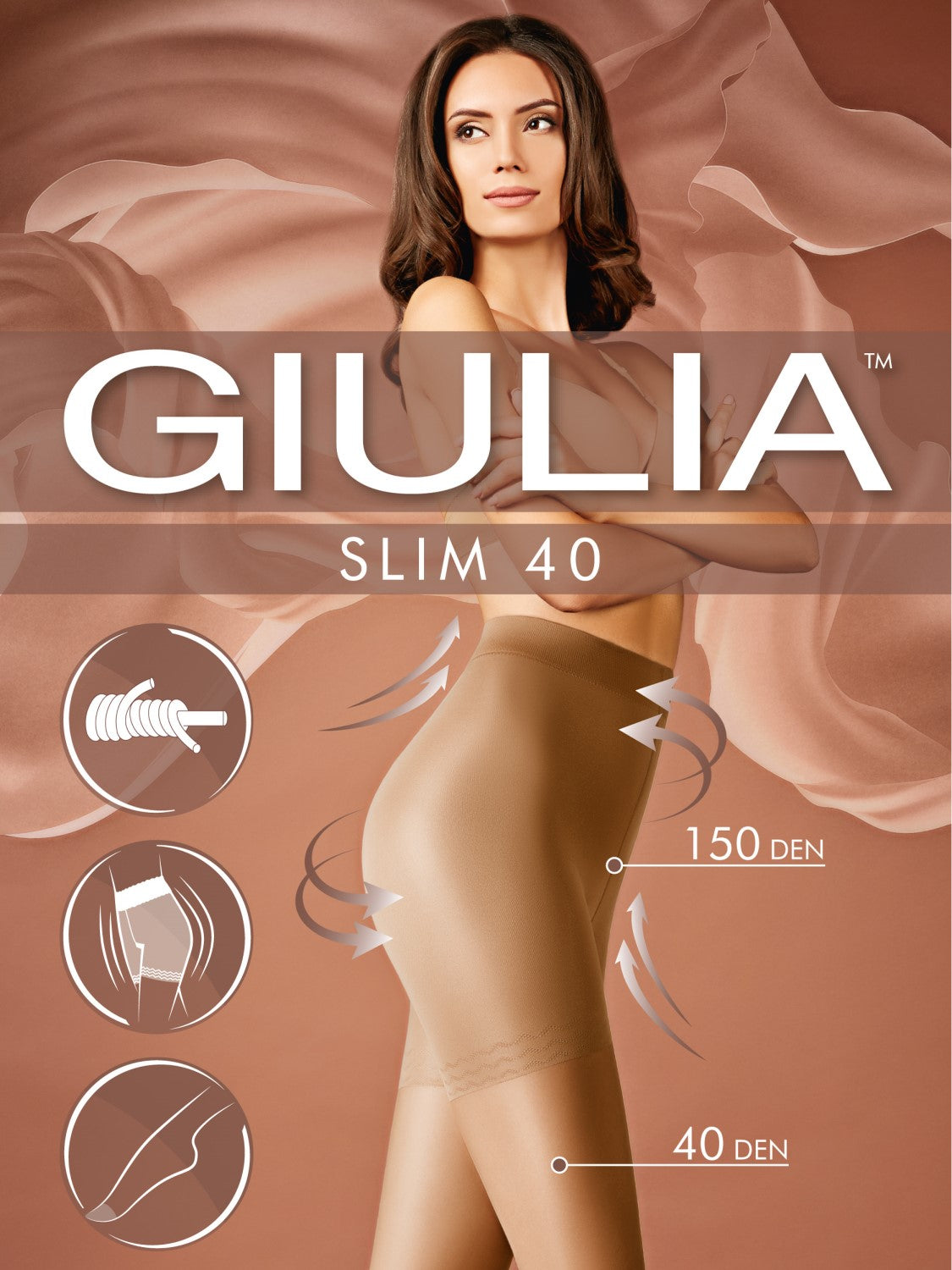 Giulia Slim 40 slimming stocking - Hosetess best compression stockings free download