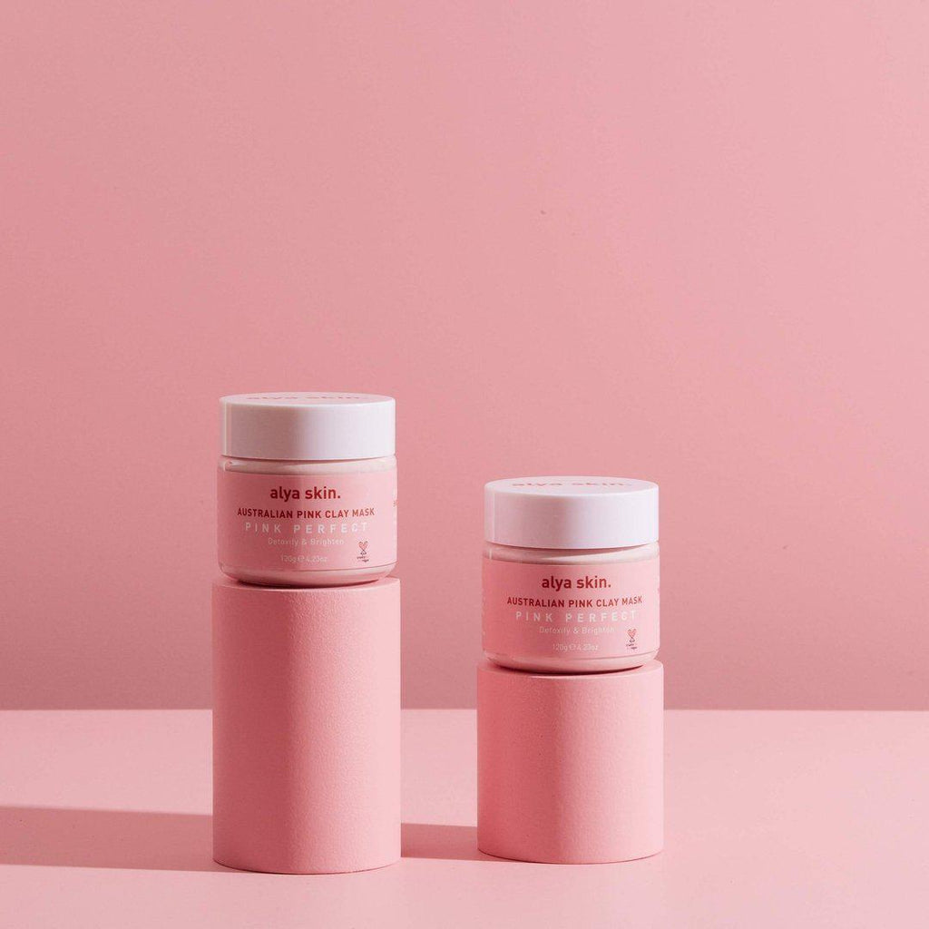 Alya Skin Pink Clay Mask (120g) (TWIN PACK)