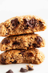Galletas veganas sabor choco-chip 10 pzas