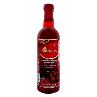 Vinagre de vino tinto Pianello 500 ml