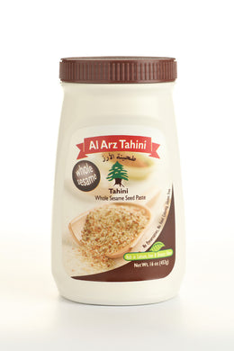 Al Arz whole sesame Tahini 453 g