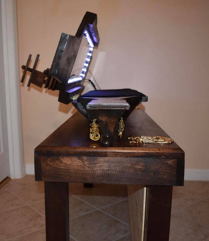 Aircraft Carrier Shadow Box Table