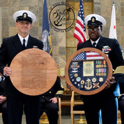 Navy Counselor Badge Shadow Box