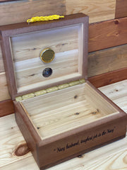 Humidor Shadow Box