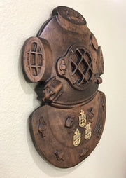 Mark 3 Dive Helmet Wall Plaque
