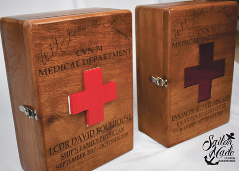Medical Box Coin Holder
