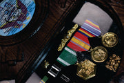 Ribbon / Medal / Warfare Mounting