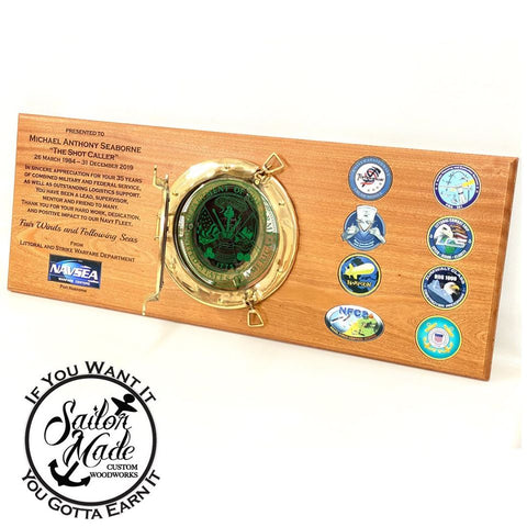 Port Hole Plaque