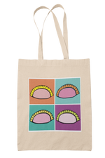 Pop Art Dumpling Tote