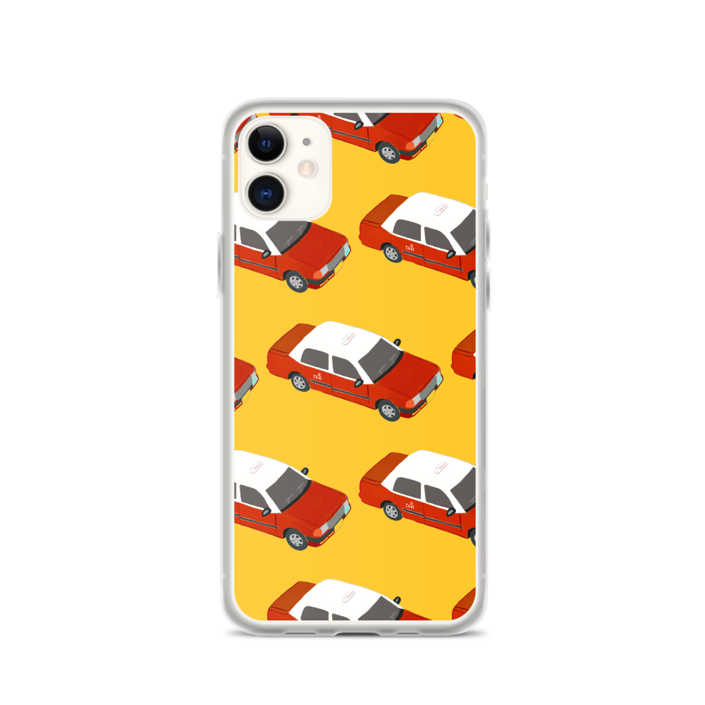 Red Taxi iPhone Case