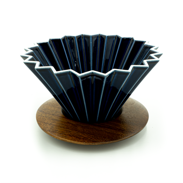 Navy Blue Origami Dripper - CoffeeNutz®