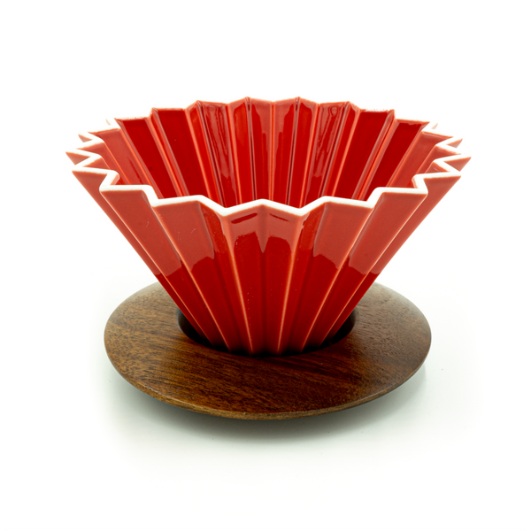 Red Origami Dripper - CoffeeNutz®