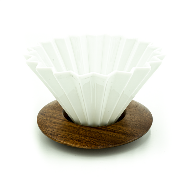 White Origami Dripper - CoffeeNutz®