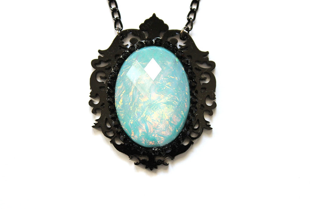 Aqua Aura Fairytale Necklace