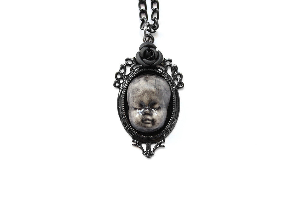 The Weeping Baby Doll Necklace