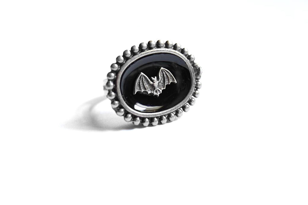 Silver Bat Extra Mini Ring