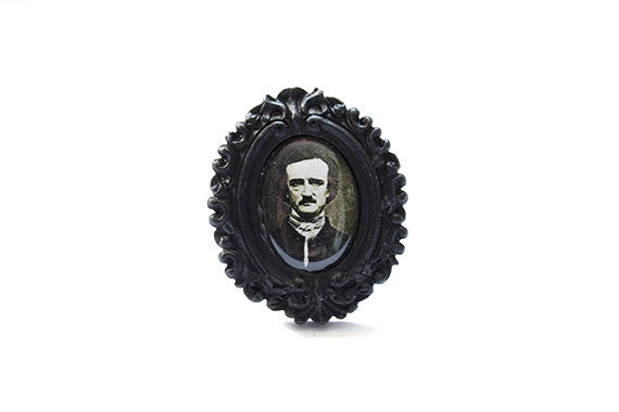 Edgar Allan Poe Extra Mini Ring