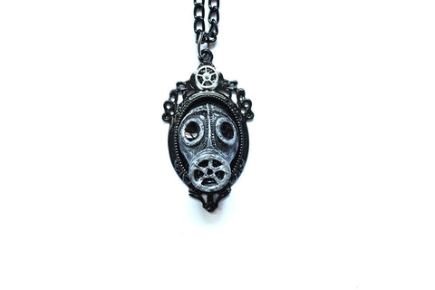 World War II Gas mask Necklace