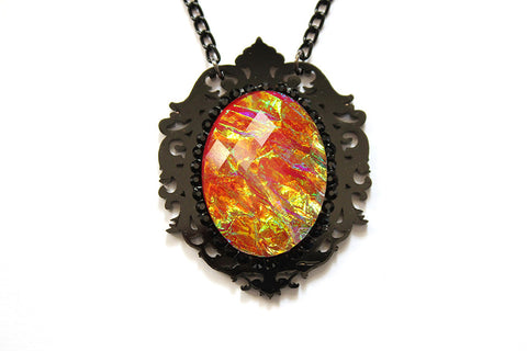Inferno Aura Fairytale Necklace