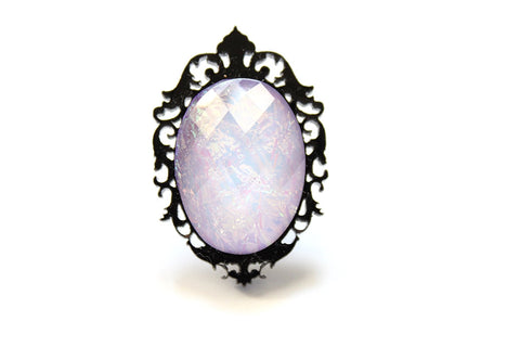 Lilac Aura Fairytale Mini Ring