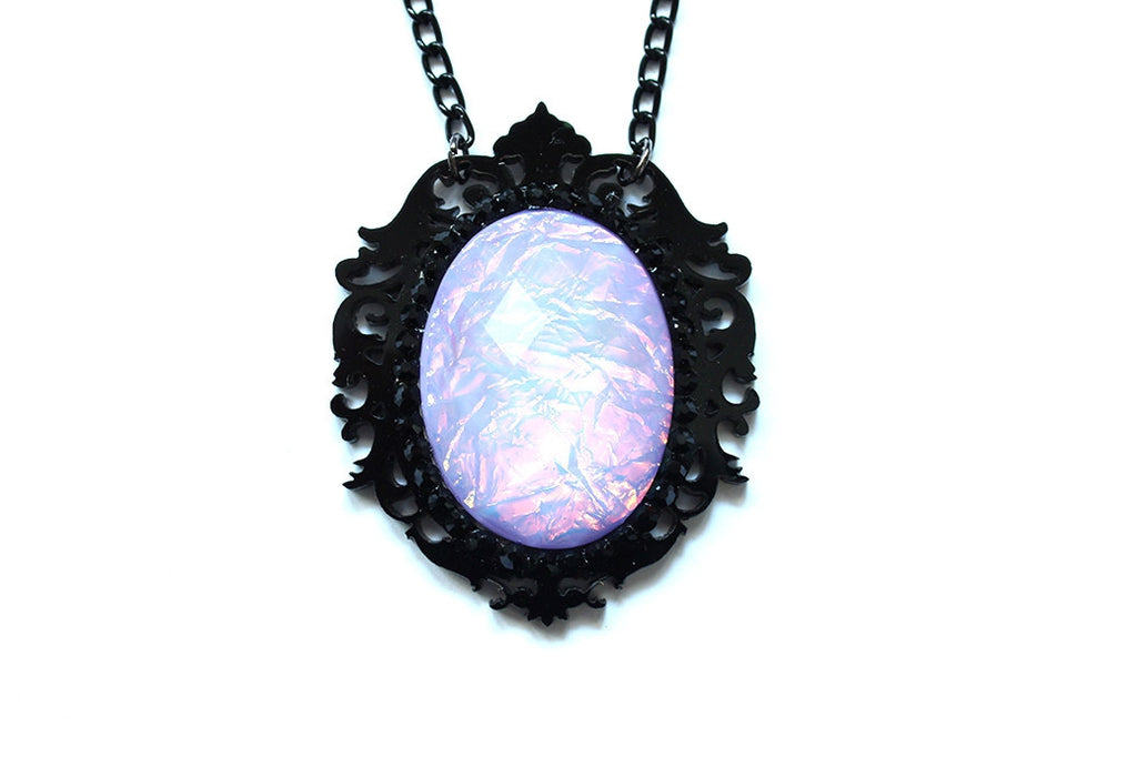 Lilac Aura Fairytale Necklace
