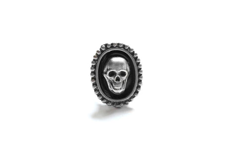 Silver Skull Extra Mini Ring