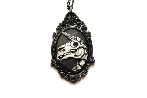 The Skellycorn Cameo Necklace