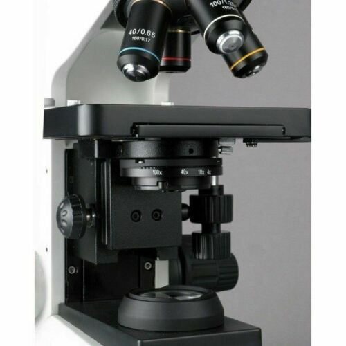 40X-2000X Simul-focal Trinocular Compound Microscope