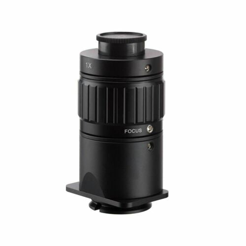 AmScope AD-C10-ZM 1X C-mount Camera Adapter for ZM-series Trinocular Microscopes