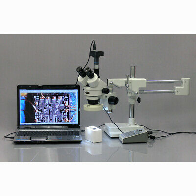 18MP USB 3.0 Color CMOS C-Mount Microscope Camera with Reduction Lens and Calibr