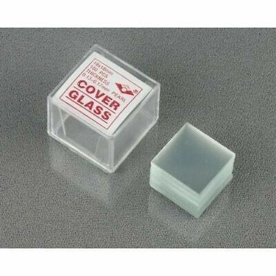 Pearl 5-Pack of 100pc Square Microscope Glass Coverslip Slides 18mmx18mm - 500