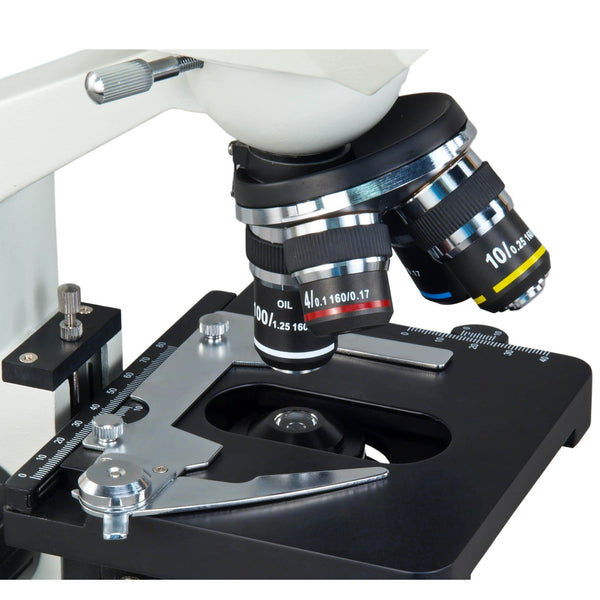 40X-2000X Built-in 1.3MP Digital Camera Binocular Compound LED Microscope