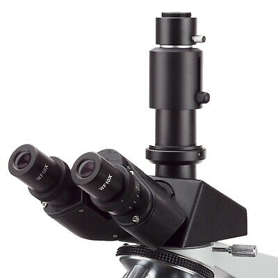 AmScope 40X-2000X Trinocular Compound Darkfield Microscope w Oil Condenser