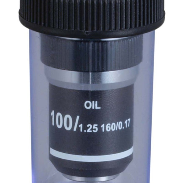 100x (Oil, Spring) Achromatic Compound Microscope Objective Lens