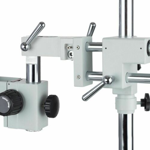3.5-45X Simul-Focal Stereo Boom Microscope+10MP Camera+Fluorescent Light