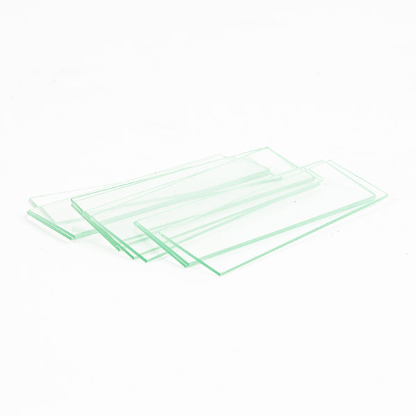 72 Pre-Cleaned Blank Microscope Slides With Ground Edges
