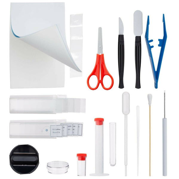 Microscope & Science 35-Piece Essential Experiment Specimen Toolkit
