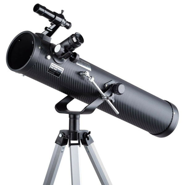 IQCREW 35X-350X 76mm Reflector Telescope with Adjustable Tripod Stand