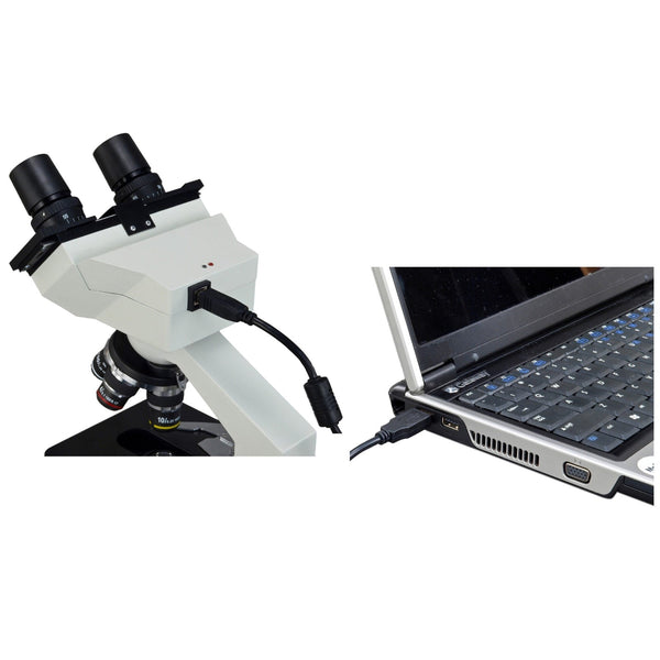 40X-2000X 3MP Digital Integrated Microscope with LED Illumination