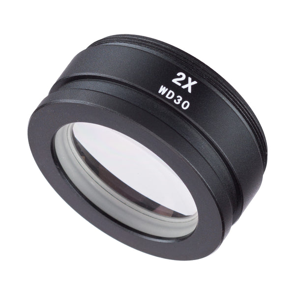 2X Barlow Lens For SM and SW Stereo Microscopes (48mm)