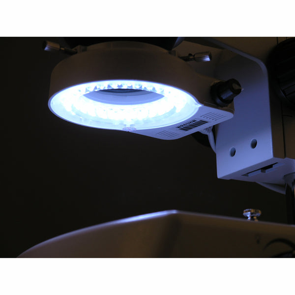56 LED Reinforced Microscope Ring Light with Dimmer