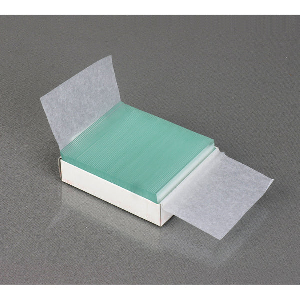 72 Pre-Cleaned Blank Microscope Slides and 100 Square Cover Glass